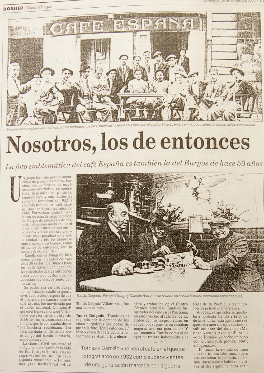 Diario16 Burgos, 1993. Nosotros, los de entonces.