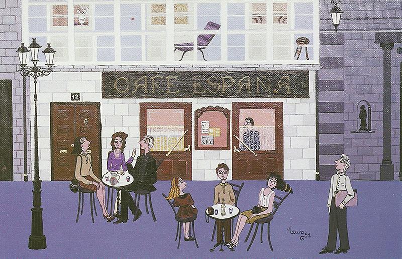 Café España, por Laura Esteban