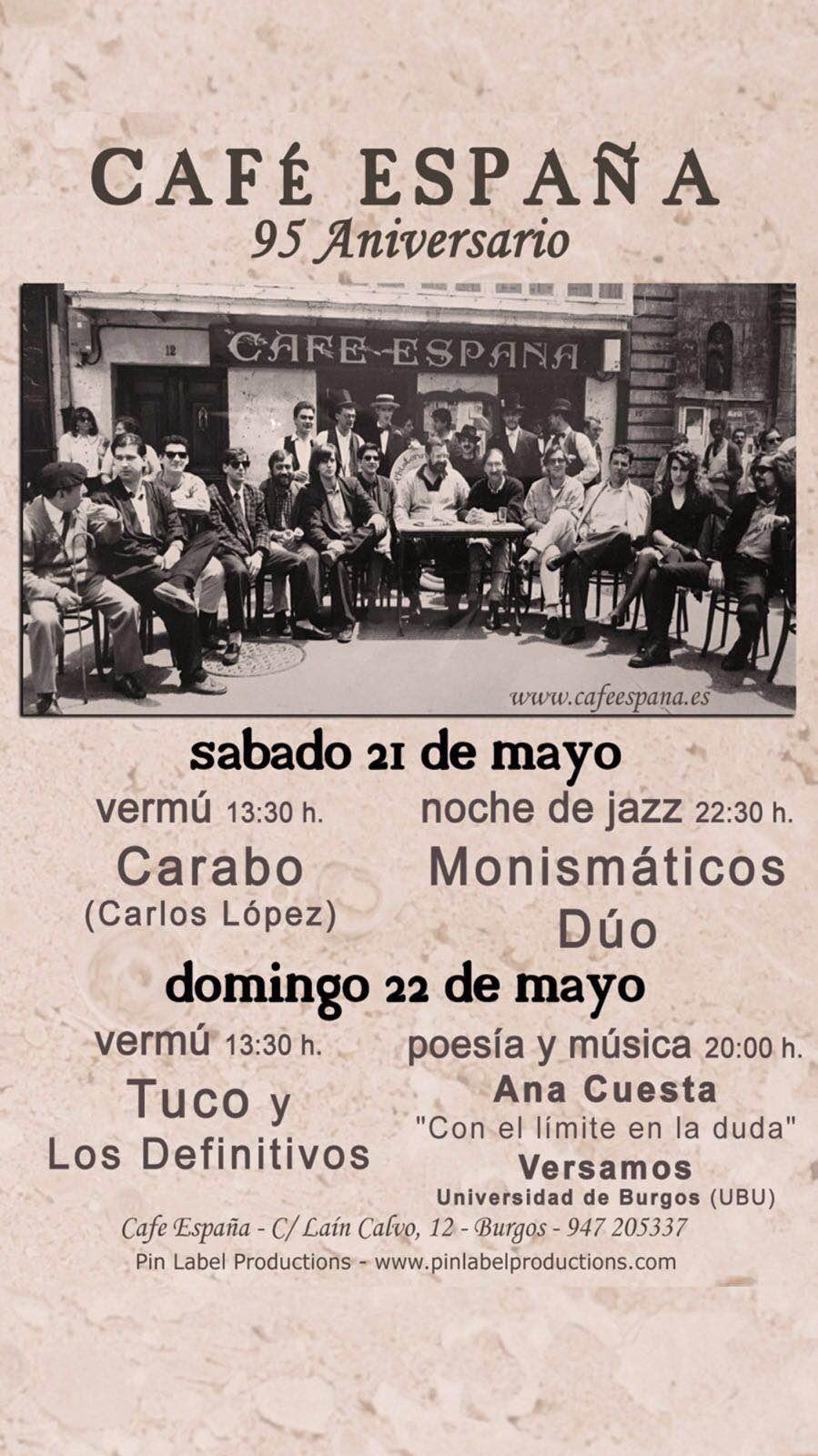 Festival 95 Aniversario Café España
